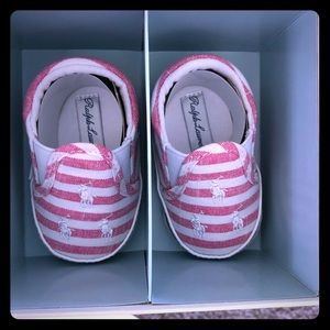 NWT in box baby girl Ralph Lauren shoes